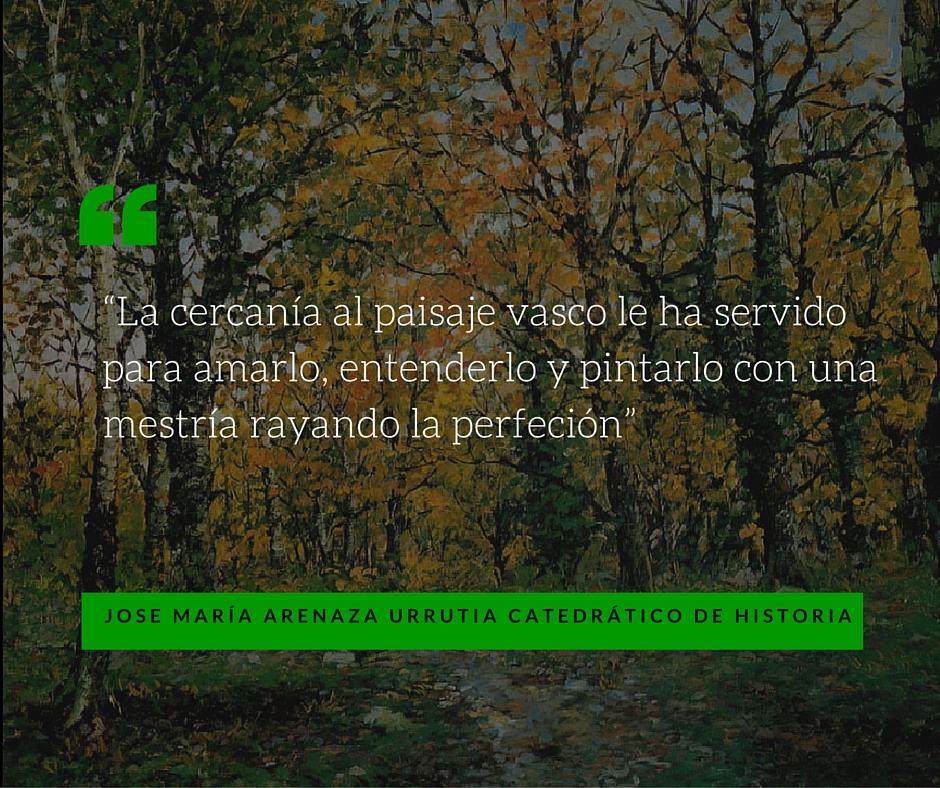 Palabras de JOSE MARÍA ARENAZA URRUTIA