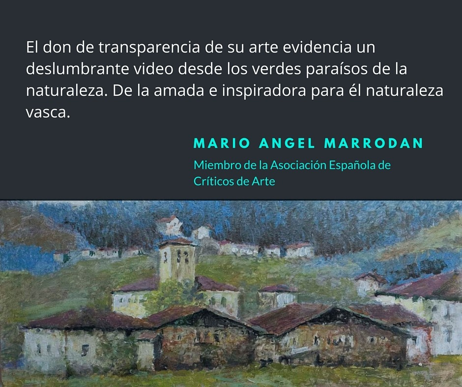 Palabras de MARIO ANGEL MARRODÁN